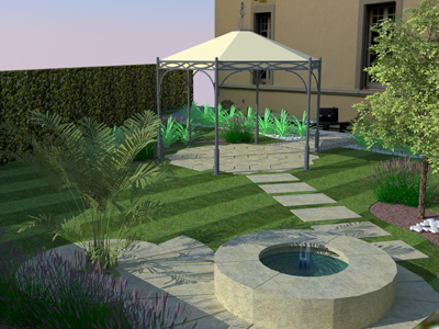 Best with giardino progetto - Progetto piccolo giardino ...