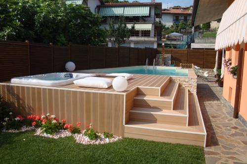 Piscine e idromassaggi progetto giardino for Piscina in giardino